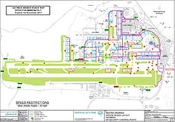 Map Gatwick Airport Airfield maps Map Gatwick Airport